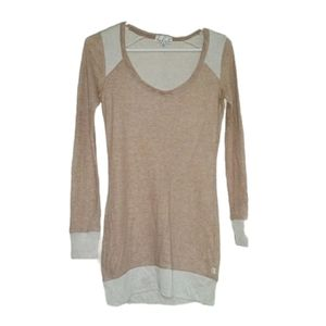 Aritzia TALULA Beige Dress/Long Top